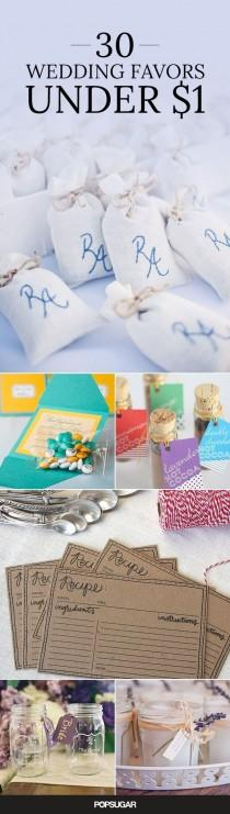 wedding photo - 30 Wedding Favors You Won't Believe Cost Under $1