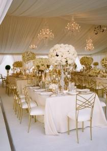 wedding photo - Gold Beaded Charger Plates, Gold Charger Plates