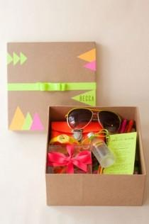 wedding photo - Neon Bachelorette Boxes