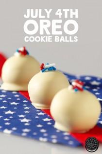 wedding photo - American Spirit OREO Cookie Balls