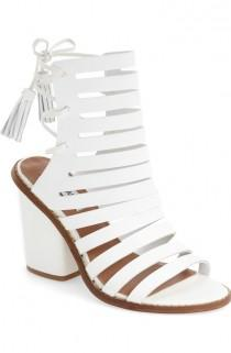 wedding photo - Steve Madden 'Pipa' Cut Out Sandal (Women)