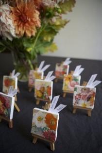 wedding photo - Mini Escort Cards