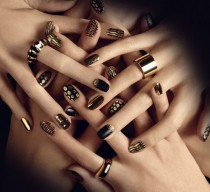 wedding photo - 24 Carat Pure Gold Nail Designs .. Design Prove Easy To Performance..Have A Look