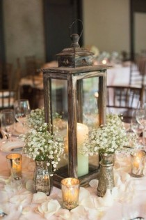 wedding photo - Fabulous Rustic Wedding Centerpiece
