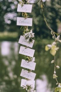 wedding photo - Escort Cards: Botanical Styling 5 Ways / Wedding Style Inspiration