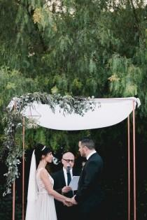 wedding photo - Modern California Wedding