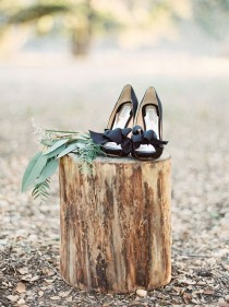 wedding photo - Modern Forest Wedding Inspiration
