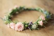 wedding photo - 23 Gorgeous Flower Crowns