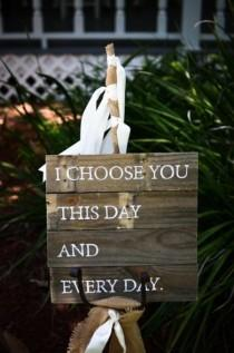 wedding photo - Handmade Backyard Florida Wedding - Loverly