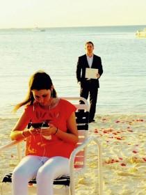 wedding photo - Boyfriend Had Been Proposing For 365 Days — Watch Her Find Out!