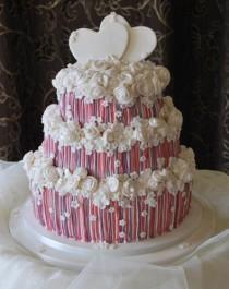 wedding photo - Wedding Cakes For Beautiful Brides