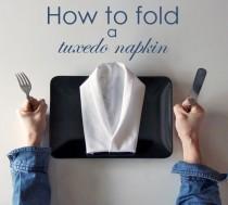 wedding photo - Napkin Folding Ideas