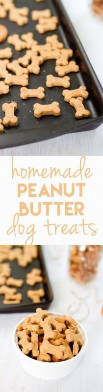 wedding photo - Homemade Peanut Butter Dog Treats