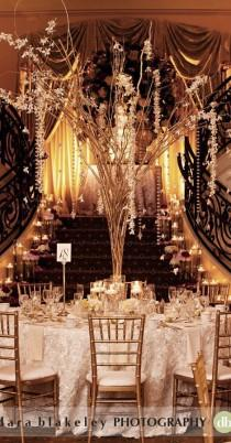 wedding photo - 1920'S INSPIRED WEDDING RECEPTIONS