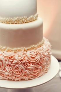 wedding photo - Gorgeous Textured Wedding Cakes