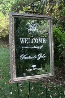wedding photo - Wedding & Home Welcome Signs