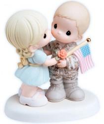wedding photo - New PRECIOUS MOMENTS Figurine MY SOLDIER HERO