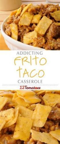 wedding photo - Frito Taco Casserole