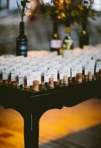 wedding photo - 30 Wine Corks Country Wedding Ideas (with Tutorials)