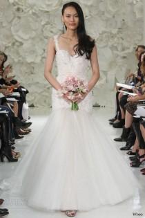 wedding photo - Wtoo Spring 2015 Wedding Dresses — Enchanted Garden Bridal Collection