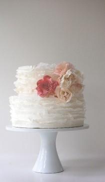 wedding photo - Designer Wedding Cakes With Perfect Detail