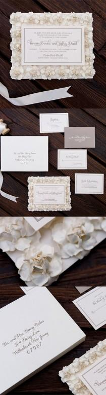 wedding photo - Vanessa Wedding Invitation