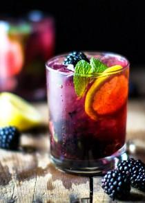 wedding photo - Blackberry Lemon Drink