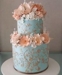wedding photo - Ece Ince: Nişan Pastası