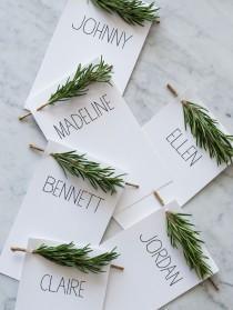 wedding photo - Wedding Reception Ideas: Beautiful Escort Cards And Seating Charts