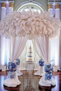 wedding photo - Luxurious Cobalt Blue & Silver Atlanta Wedding: Nikia   Jules