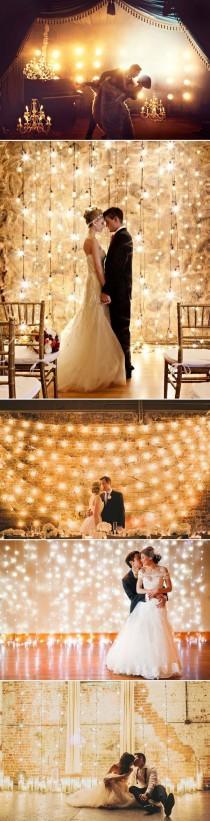 wedding photo - 53 Super Creative Wedding Photo Backdrops