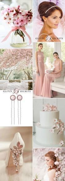 wedding photo - A Cherry Blossom Wedding