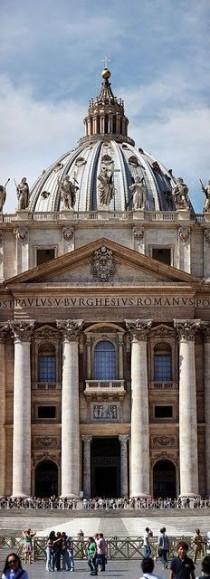 wedding photo - Basilica San Pietro In Vaticano, Rome. Italy.