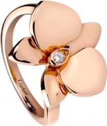 wedding photo - Caresse D'Orchidées Par Cartier Ring
