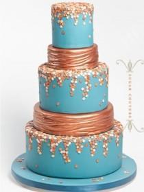 wedding photo - Wedding Cake And Food