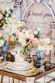 wedding photo - Pastel-Hued Parisian Romance- Wedding Inspiration