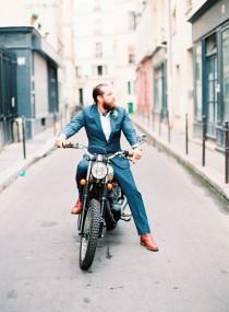 wedding photo - Romantic Parisian Elopement