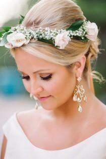 wedding photo - Pink Headpiece