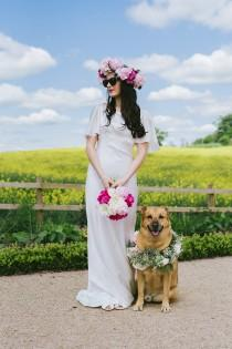 wedding photo - A Dog-Lover's Dream - Styled Shoot with Hurley's Wedding Day Dogs