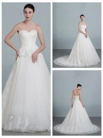 wedding photo - Sweetheart A-line Wedding Dress