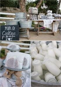 wedding photo - Milk and Cookie - Dessert Table