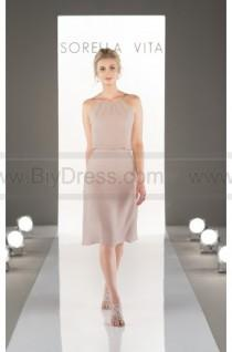 wedding photo - Sorella Vita Illusion Sweetheart Neckline Bridesmaid Dress Style 8871