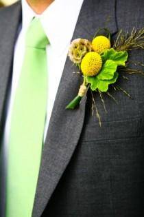 wedding photo - Boutonnieres & Corsages