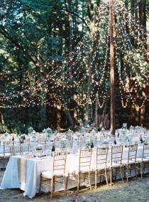 wedding photo - A Formal, DIY Woodland Wedding With A Bohemian Spin At A Private Residence In Sebastopol, California