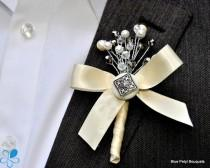wedding photo - Jewel Blossom - Blue Petyl Bouquets