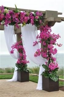 wedding photo - Floral : Ceremony