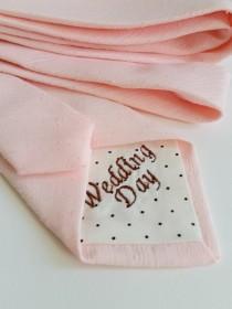 3fd1ca1ba8c3 Wedding Day Neck Tie in Textured Blush Pink