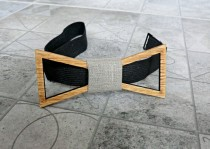 wedding photo - Wood Bow Tie Men Bow Tie Groomsmen gift Valentines gifts for him Wedding Gifts Mens Wooden Bow Tie Groom gift Boyfriend gift fathers day