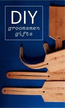 wedding photo - 16 DIY Groomsmen Gifts The Guys Will Love