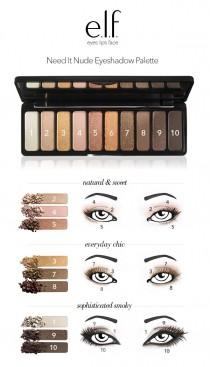 wedding photo - Need It Nude Eyeshadow Palette